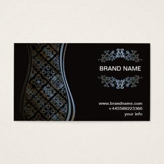 VIP Business card Blue Gold