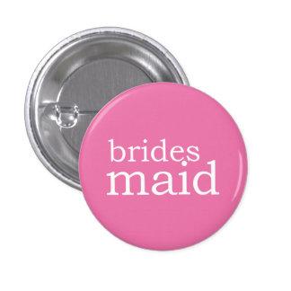 VIP Button | Bridesmaid Pink