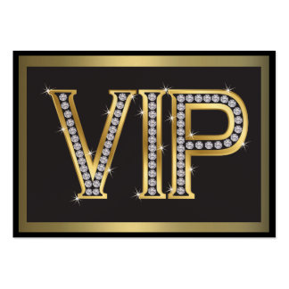 VIP Card for Clients - SRF Large Business Card