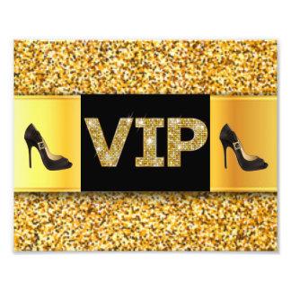 VIP Gold Diamonds High Heels Art Photo