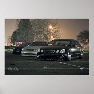 VIP Lexus GS x 3 Poster