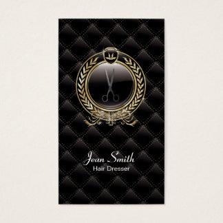 VIP Luxury Hair Dresser Dark business card