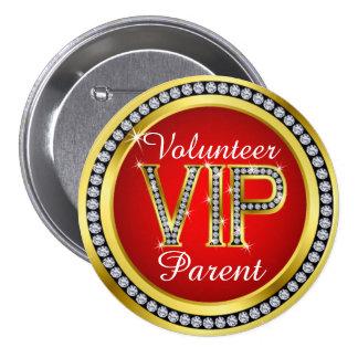 VIP Parent Volunteer Button - srf