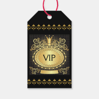 VIP Royal Elegant Monogram Gift Tag - SRF Pack Of Gift Tags