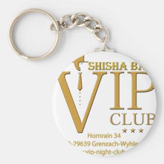 VIP Shisha fan article Basic Round Button Keychain