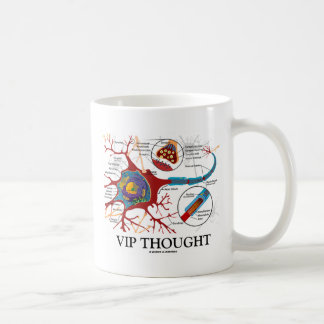 VIP Thought (Neuron / Synapse Humor) Coffee Mug