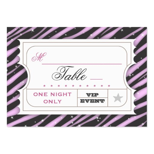 vip admission ticket template .