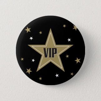 VIP with stars 2 Inch Round Button