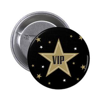 VIP with stars 2 Inch Round Button