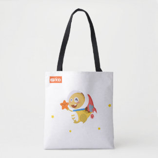 VIPKID Cosmic Dino Tote Bag