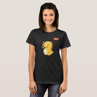 VIPKID Rose Dino T-Shirt