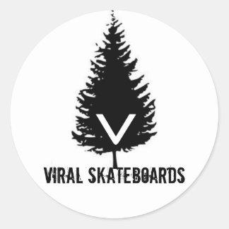 ViralLogoSticker Round Sticker
