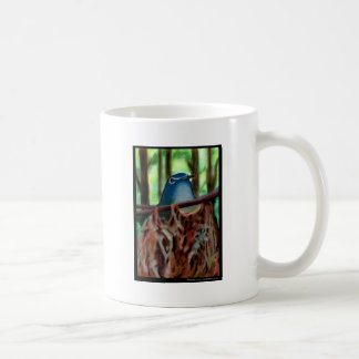 Vireo in Nest Classic White Coffee Mug