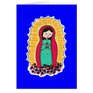 Virgen De Guadalupe Note Card