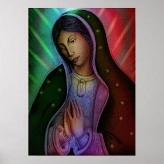 Virgen De Guadalupe Poster