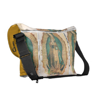 Virgen de Guadalupe (traditional) Messenger Bag
