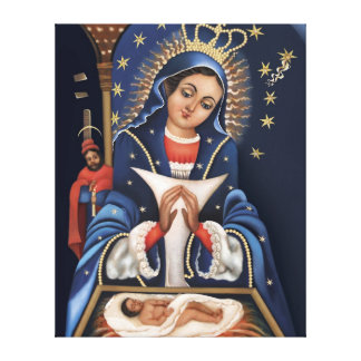 Virgen de la Altagracia Wrapped Canvas