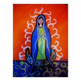 virgen guadalupe poster