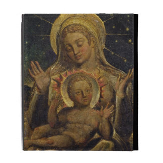 Virgin and Child, 1825 (tempera on panel) iPad Folio Covers