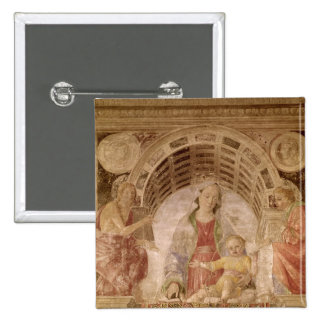 Virgin and Child 2 Pinback Buttons