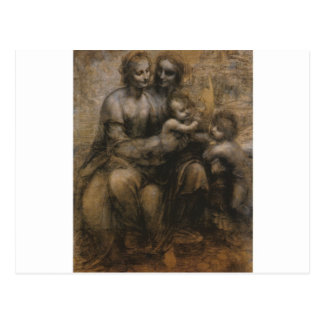 Virgin and Child by Leonardo da Vinci c. 1499 Postcard
