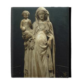 Virgin and Child, c.1375 (alabaster) iPad Cases