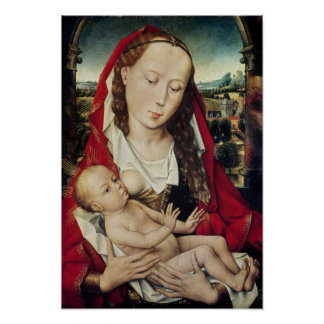 Virgin and Child, c.1467-70 Posters
