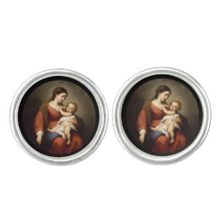Virgin and Child Cufflinks