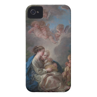 Virgin and Child - François Boucher Case-Mate iPhone 4 Case