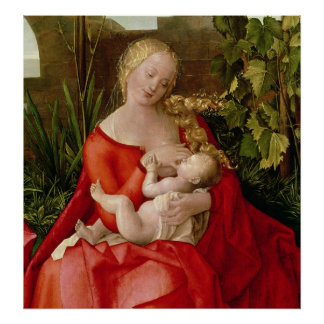 Virgin and Child 'Madonna with the Iris', 1508 Poster