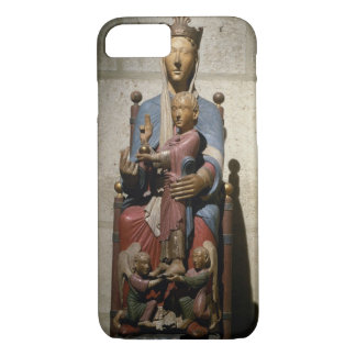 Virgin and Child, (polychrome wood) iPhone 7 Case