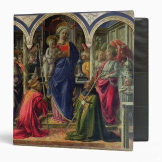 Virgin and Child surrounded by Angels Binder