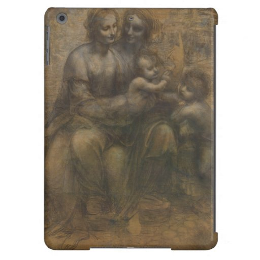 Virgin and Child with St Anne by Leonardo da Vinci Cover For iPad Air