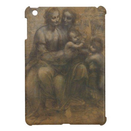Virgin and Child with St Anne by Leonardo da Vinci iPad Mini Covers