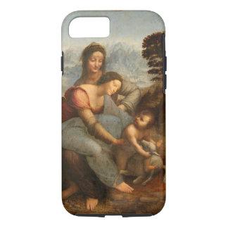 Virgin and Child with St. Anne Da Vinci iPhone 7 Case