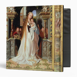 Virgin and Child with Three Angels, central panel 3 Ring Binder