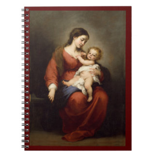 Virgin and Christ Child Notebook