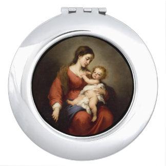 Virgin and Christ Child Vanity Mirror