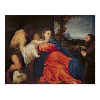 Virgin and Infant Postcard
