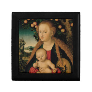 Virgin Child Under Apple Tree Cranach Gift Box