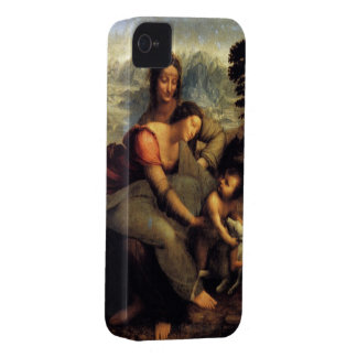 Virgin & Child w/ St.Anne & Lamb Case-Mate iPhone 4 Cases