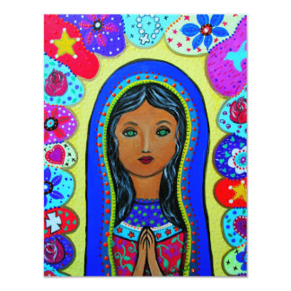 Virgin Guadalupe Card