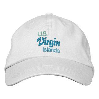 VIRGIN ISLANDS 2 cap Embroidered Baseball Cap