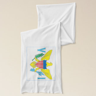 Virgin Islands Flag Lightweight Scarf
