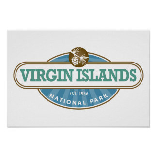 Virgin Islands National Park Poster
