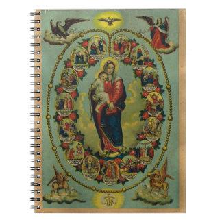 Virgin love spiral notebook