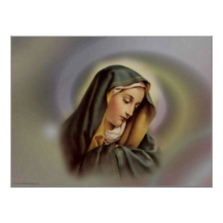 Virgin Mary 2 Print