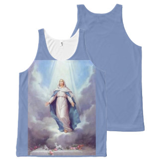 Virgin Mary All-Over-Print Tank Top