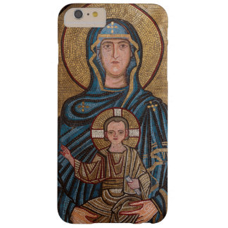 Virgin Mary And Jesus Mosaic Barely There iPhone 6 Plus Case