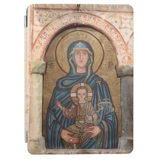 Virgin Mary And Jesus Mosaic iPad Air Cover